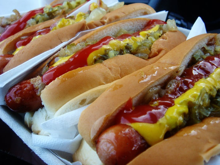 Every July 4, hopeful hot dog eaters flock to Nathan's Famous Hot Dogs on Coney Island. It's a good bet that this New York tradition will go on forever, but if you decide to take part, do be aware that you'll have to qualify first.