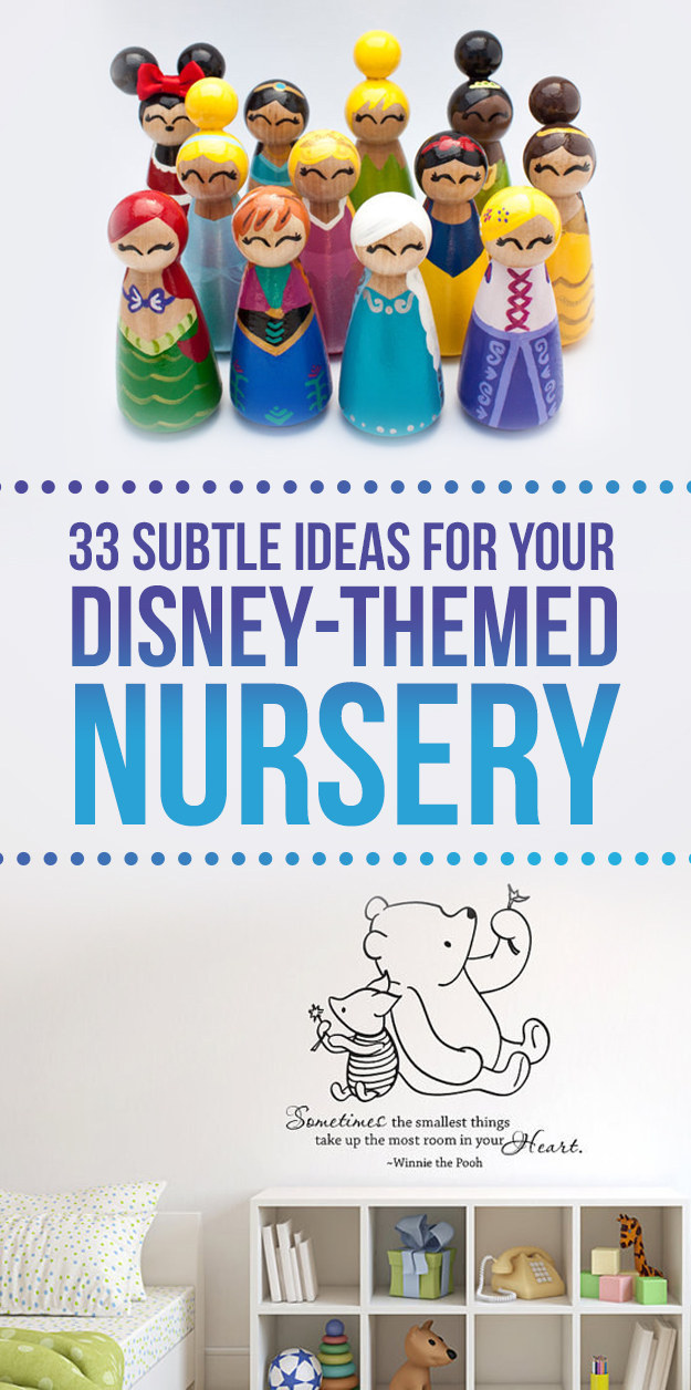 33 Perfectly Subtle Ideas For Your Disney Themed Nursery