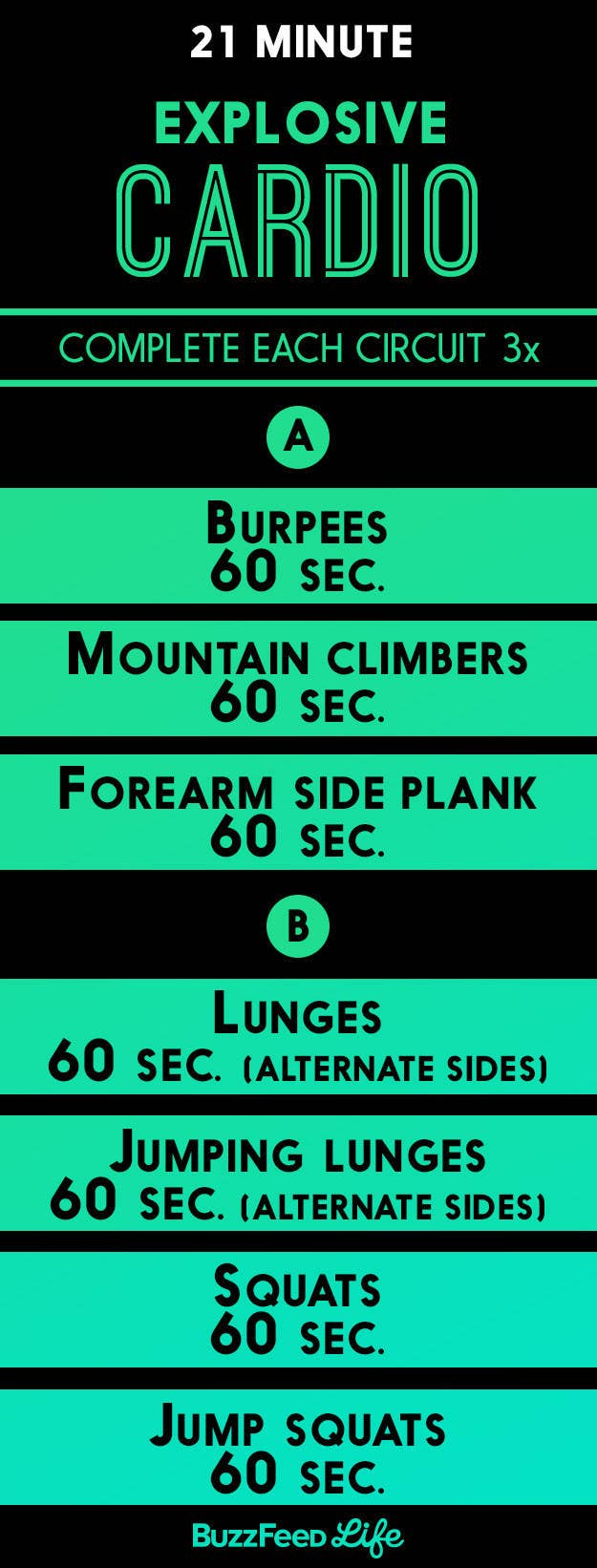 For A Quick Workout With Plenty Of Jumping