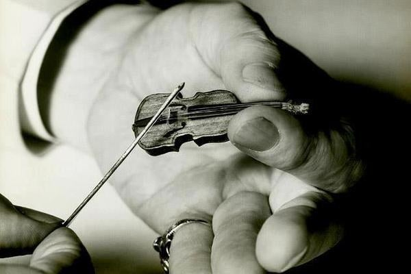 Image result for tiny violin meme
