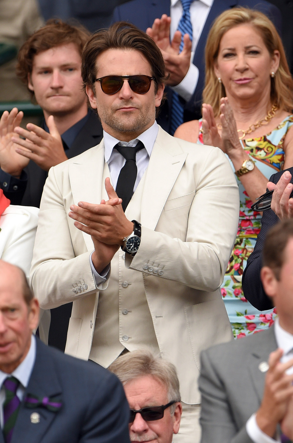 17 Celebrities (And Their Reactions) In The Crowd At Wimbeldon