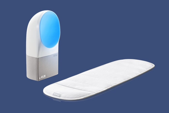 It adapts to your sleep patterns in real time, senses your heart rate and breathing, and scans the room for noise, light, and temperature. Talk about brilliant. Available here.