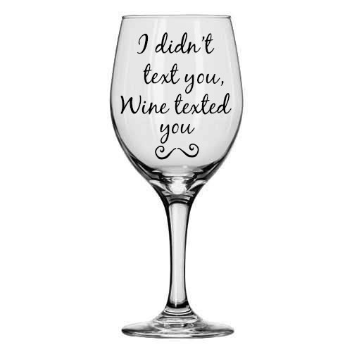 21 wine glasses you actually need in your life for Cute quotes for wine glasses