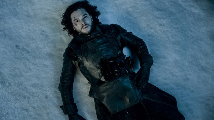 And for the next nine months the thing they'll most likely be speculating about is how Jon Snow can be brought back from the dead. But nine months is a long time, so allow us to give you something else to think about...