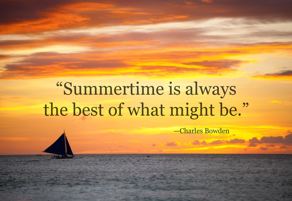 42 Of The Most Beautiful Literary Quotes About Summer