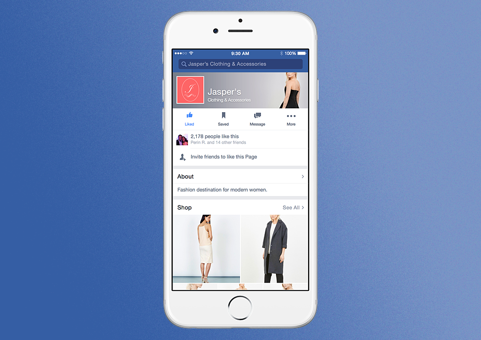 Facebook Takes Big Step Forward On Commerce, Builds Shops Into Pages