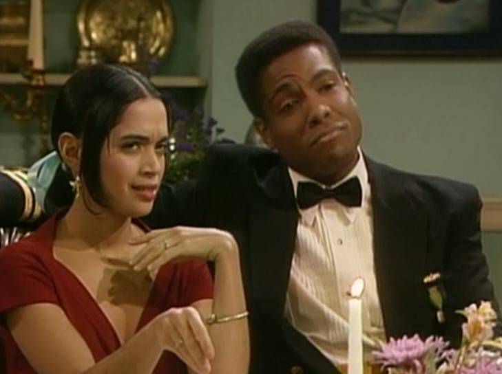 Phillips C. Johnson on The Cosby Show