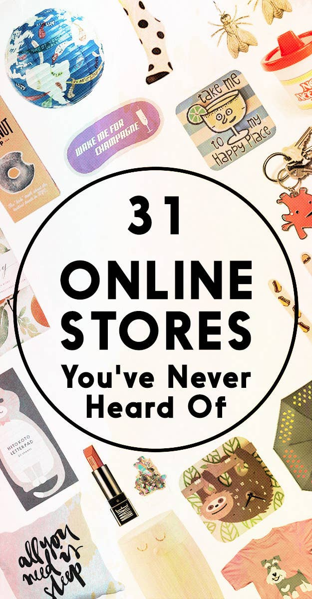 31 Cool Online Stores You've Never Heard Of