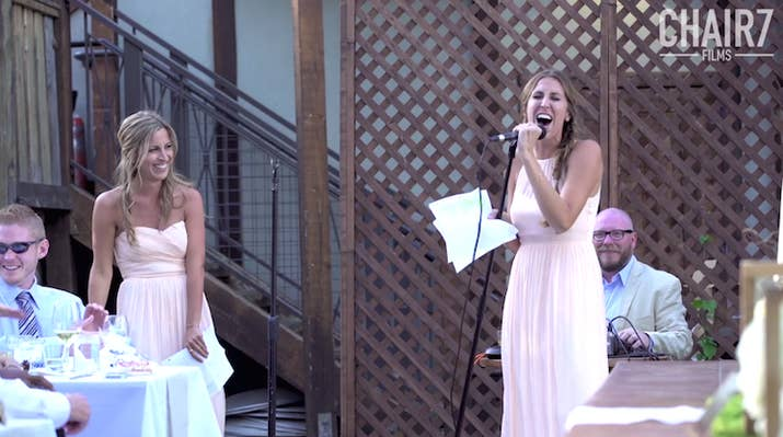 All Maids Of Honor Should Now Basically Just Quit Trying Because A Pair California Sisters Delivered The Best Wedding Speech Time