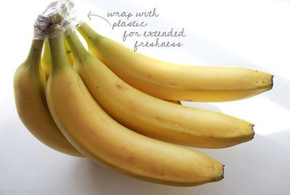 This trick is especially helpful if you eat organic bananas.
