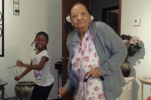 Watch This 97-Year-Old Granny Slay A Dance To Fifth