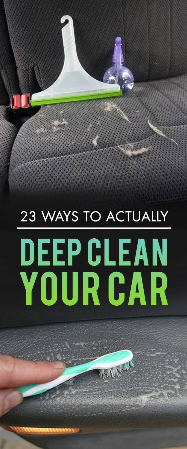 Car interior homemade cleaner - Share On Facebook Share
