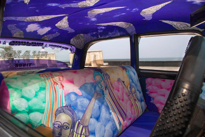 Taxi fabric design by Gaurav Ogale.