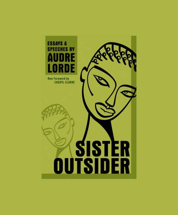 Sister Outsider is a collection of essays and speeches by activist Audre Lorde. The essays are on sexism, racism, ageism, homophobia and class, and discuss how social difference can be a vehicle for change. Because it's broken down into individual speeches, the book is easy to put down and come back to, in between margaritas and trips to the beach (though it's so inspiring, you probably won't want to).