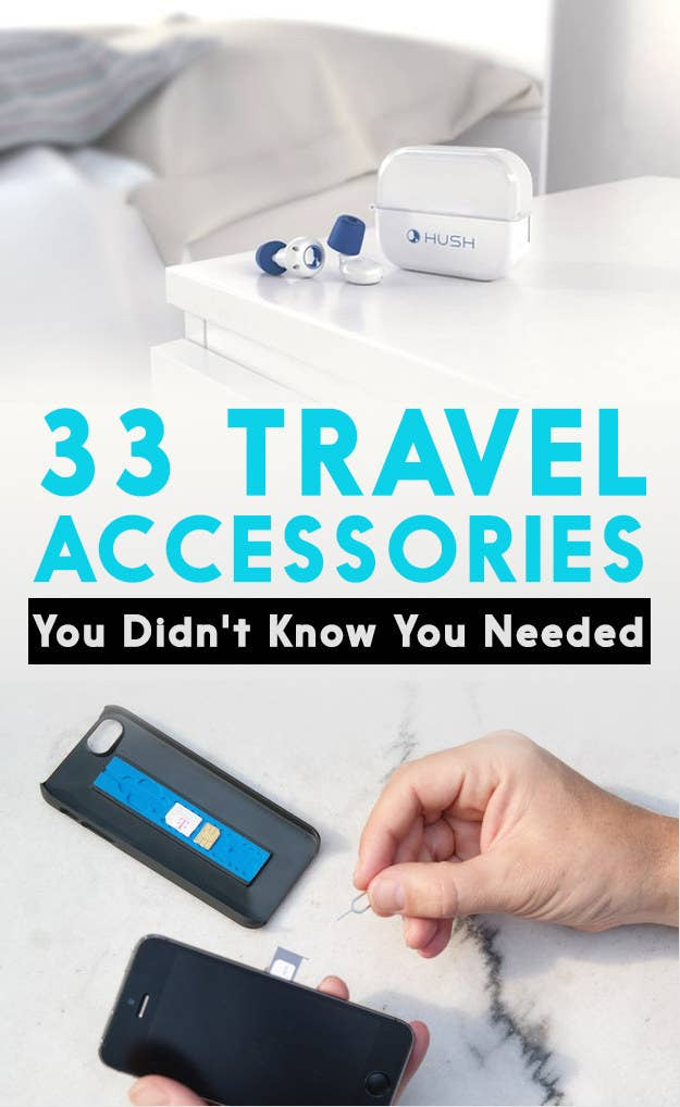 Genius Travel Accessories You Didnt Know You Needed - 10 innovative travel accessories you wont be able to travel without