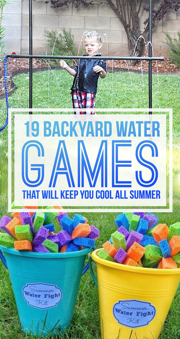 19 Backyard Water Games You Have To Play This Summer