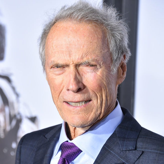 Clint Eastwood at the premiere for American Sniper.