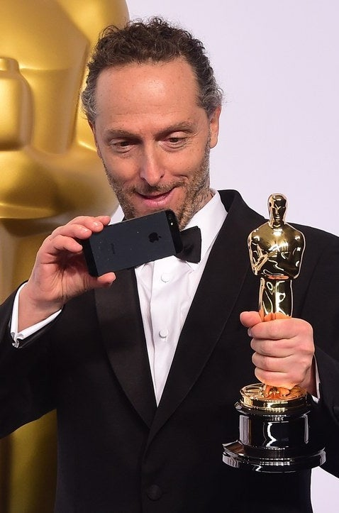 Lubezki at the Oscars.