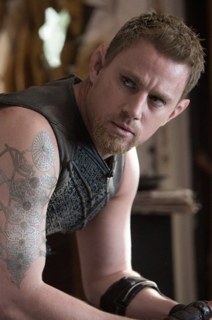 Channing Tatum in Jupiter Ascending.