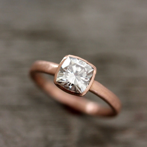 Rose Gold Engagement Rings Buzzfeed
