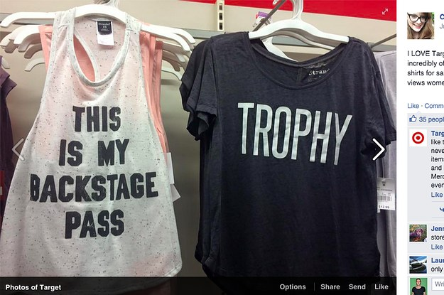 22643b9e People Are Upset With Target For Selling A Shirt That Says