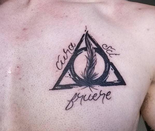 42 Incroyables Tatouages Harry Potter Que Seuls Les Moldus
