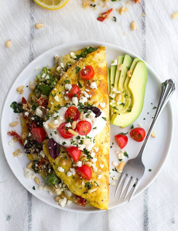 The Combination Of Eggs And Feta Create A Naturally Low Carb And Protein Packed