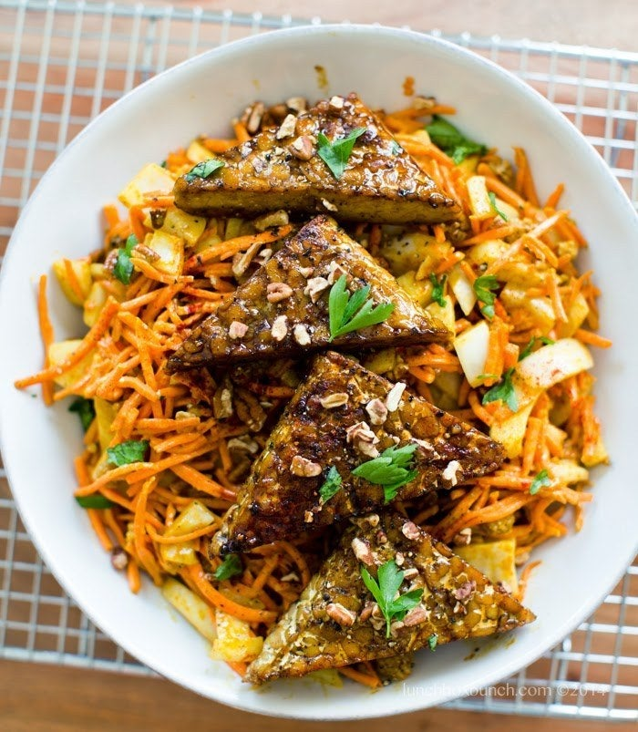 This recipe has the perfect combination of spicy and savory flavors. Recipe here.