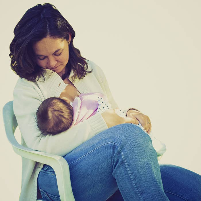 Not only has breastfeeding been reported to strengthen the bond between mom and baby, it also has medical benefits: Studies show that it can lower breast cancer risk by up to 20%. It's especially effective if you breastfeed for over a year.