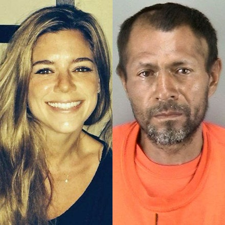 Kathryn Steinle and Francisco Sanchez.