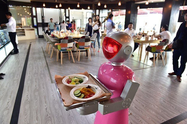 Image result for Robots in fast food