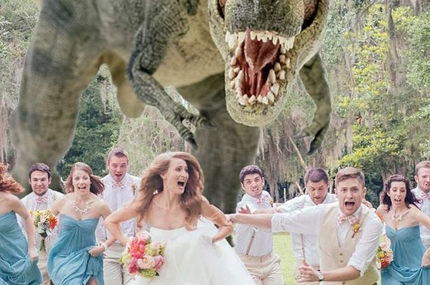 12 Reasons You Should Have A Jurassic World Themed Wedding