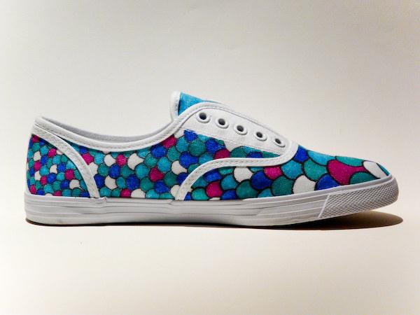 Para Darle Ideas Zapatos Un Blancos Solo 36 Sharpie Usando Vida Unos A lJcF1K