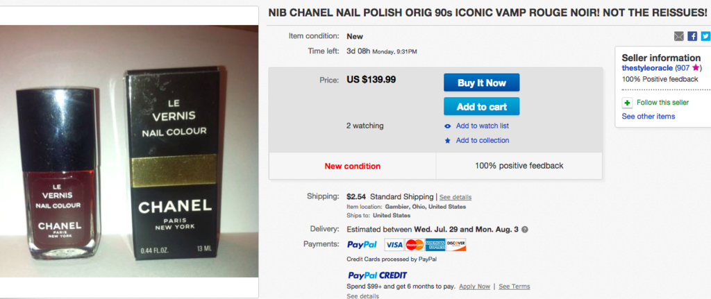 15 Beauty Products From The '90s That Are Now Crazy Expensive