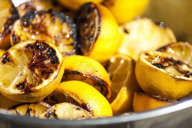Sugar-coated lemons + grilling = a caramelized delight. Get the recipe here.