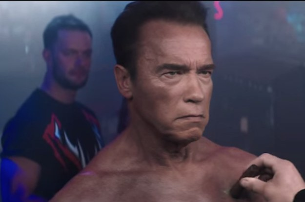 Arnold schwarzenegger as the terminator is now a playable character arnold schwarzenegger as the terminator is now a playable character in wwe 2k16 thecheapjerseys Gallery