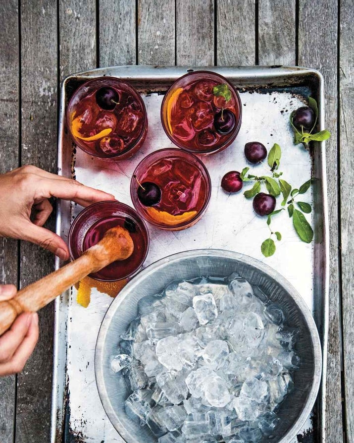 Regular old negronis were starting to feel a little played out.. Recipe here.