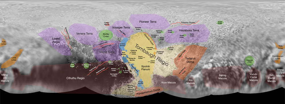 map of Charon
