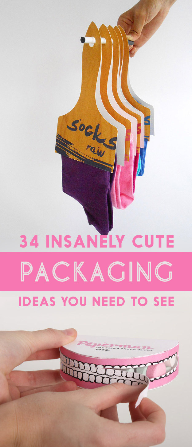 Insanely Cute Guys: 34 Aggressively Cute Packaging Ideas You Need To See