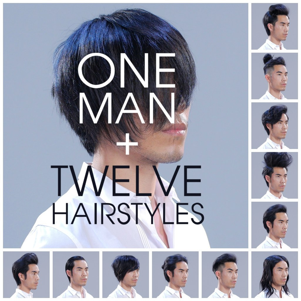Watch This Man Transform Into 12 Different Popular Hairstyles