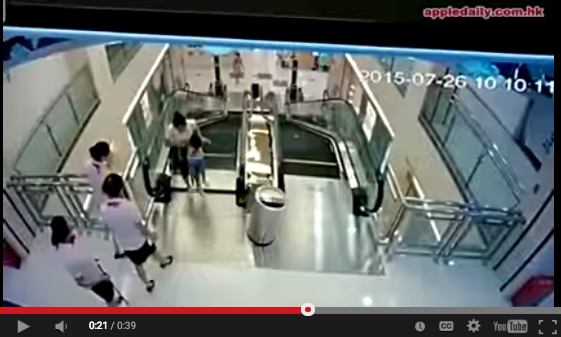 This Is How People In China Are Riding Escalators After A Horrific Accident