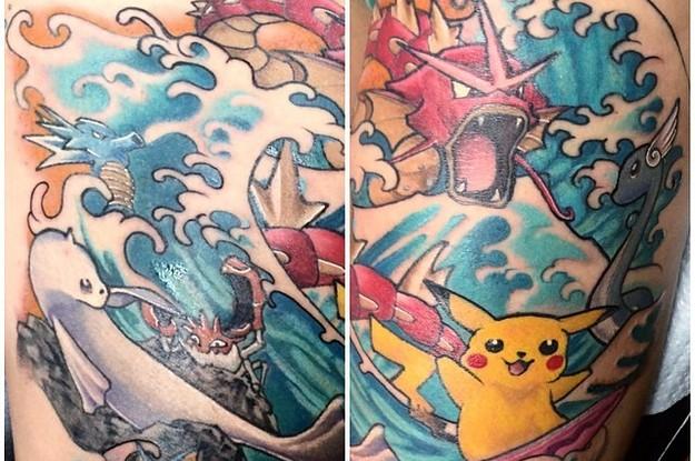 37 Increíbles tatuajes que sólo un maestro Pokémon apreciará