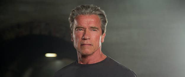 """Cyborgs may not age, but Arnold Schwarzenegger does, and the movie's explanation for why the T-101 looks 67 years old is that the flesh with which its metal skeleton is covered is human, and behaves accordingly (except when it comes to things like growing back an arm, of course). I assume there old T-101s somewhere with necrotic Austrian flesh dropping off them in rotting chunks. Yet somehow, it's more disheartening when the movie conveniently """"upgrades"""" the T-101 at the end, setting it up to be played by either a new actor or Schwarzenegger's digitalized face grafted onto another body. That's a service that bodybuilder Brett Azar already provides in Terminator Genisys in the scene in which the T-101 intercepts and fights its younger self, a sequence that suggests the character might, creepily, outlive everyone involved in the original 1984 film."""