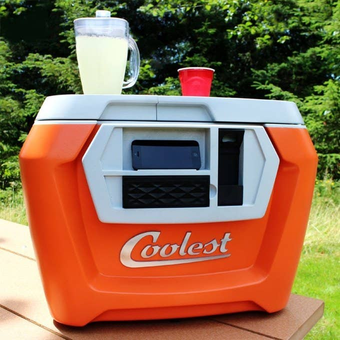 The world collectively freaked out when the Coolest cooler hit Kickstarter last year. Backers pledged over $13 million to the party-in-a-box. Many supporters STILL haven't received their ultimate beach cooler, but it'll be worth the wait.The Coolest includes a rechargeable blender, waterproof Bluetooth speaker, USB charger, LED light, cutting board, bottle opener, and more. But it ain't cheap.Current pricing: $485Expected ship date: September 2015 for a limited number of orders, early 2016 for the remainder