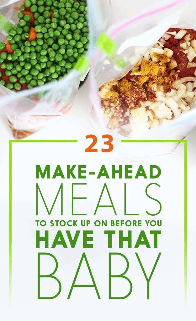 23 make ahead meals to freeze before you have that baby share on facebook share forumfinder Images
