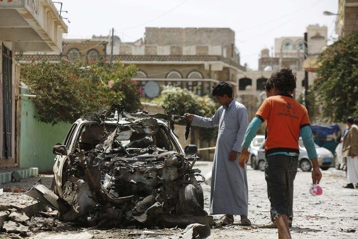 In June, a series of ISIS-claimed bombings in killed several people and wounded dozens in Sanaa.
