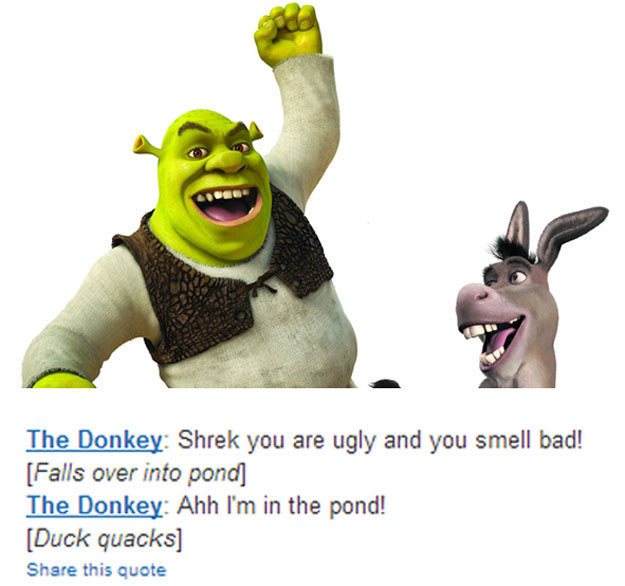 Best Shrek Quotes: This Guy Keeps Putting Hilarious Fake Movie Quotes On IMDB