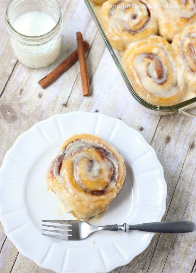 Have a sweet start to the morning. Recipe here.
