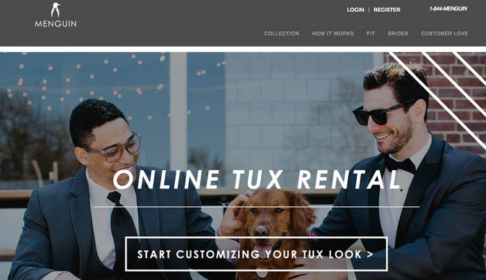 Online Tux Rentals Are The Elephant In The Room For Men S