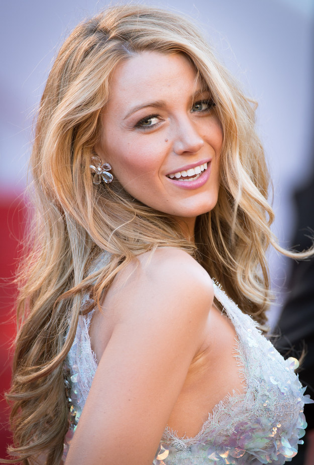 Blake Lively Hair Color Blonde